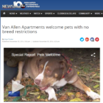 Van Allen Apartments, Albany, NY, Pets are welcome, pet friendly